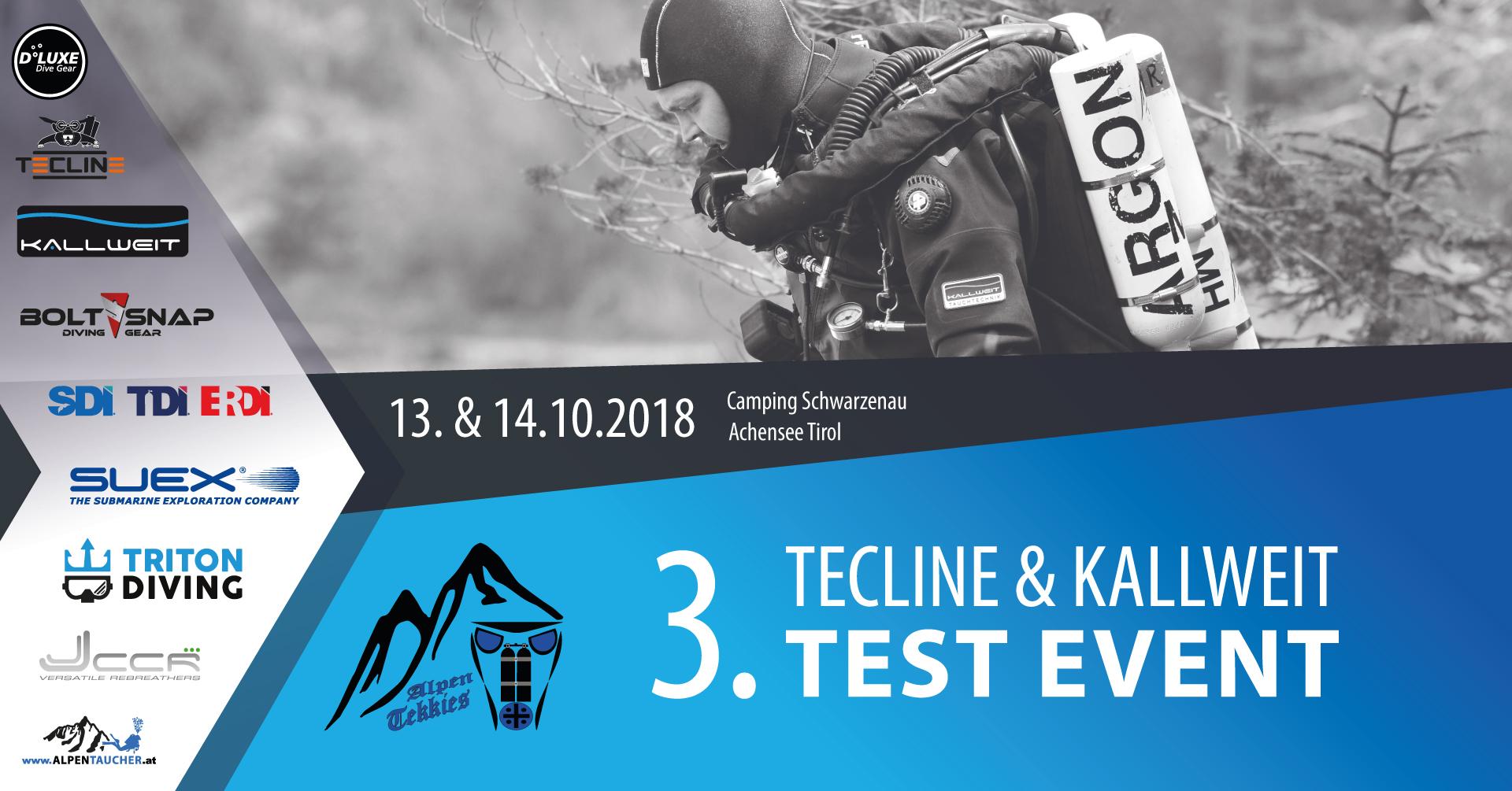 Tecline & Kallweit Test-Tekk Event  13-14. 10. 2018